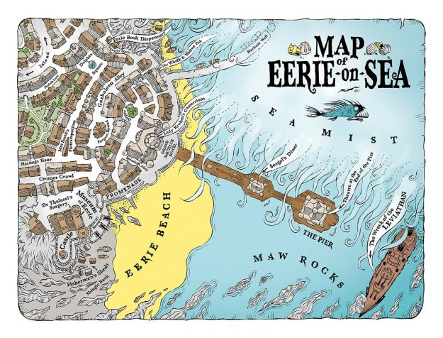 Map of Eerie on Sea