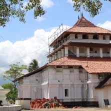 Lankathilake Temple - the one on the 500 Rupee Note