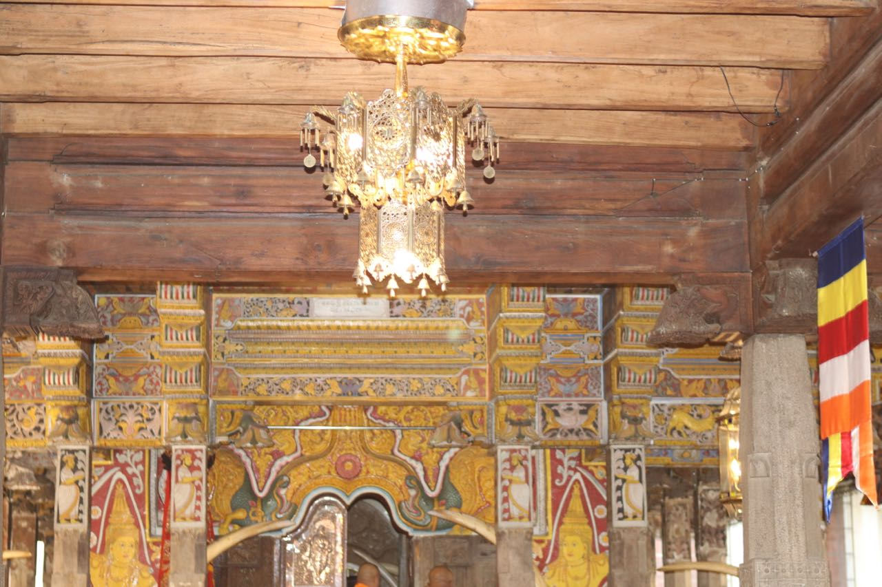 Temple of the Tooth interior