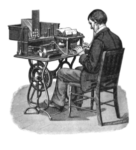 547px-Transcription_using_cylinder_phonograph