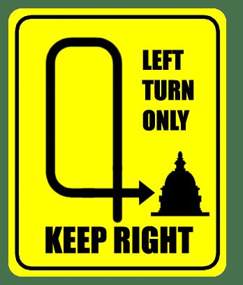 Turn left, Turn right, Turn off