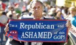 ashamed republican