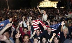 obama celebrate
