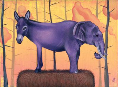 donkey_and_elephant