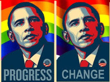 obama rainbow