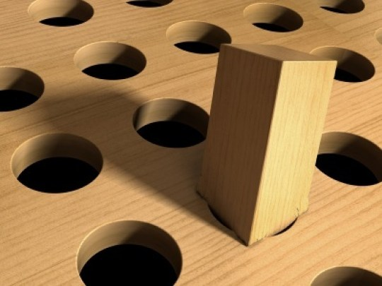 Square Peg in a Round Hole