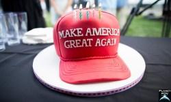Trump Hat Cake