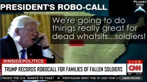 Trump to Use Robocalls to Comfort Families of Fallen Soldiers