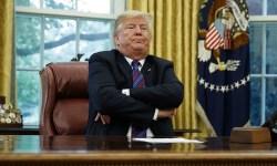 Trump pout