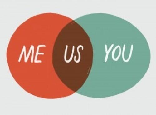 you me us