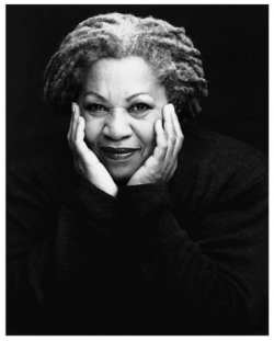 Toni Morrison. Princeton, Photo by Timothy Greenfield-Sanders.