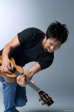Jake Shimabukuro performs at McCarter Theatre Friday night.