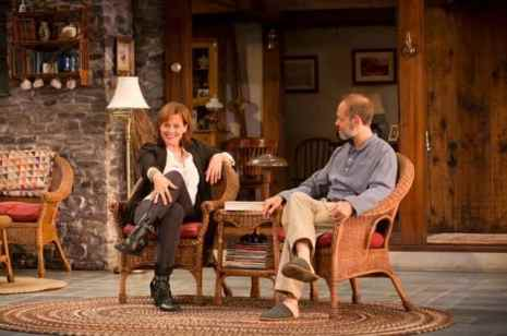 "Sigourney Weaver and David Hyde Pierce in ""Vanya and Sonia and Masha and Spike."" Photo: T. Charles Erickson."