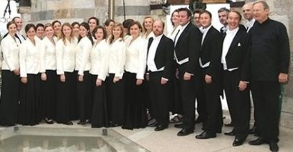 The Monteverdi Choir performs Sunday at Princeton University.