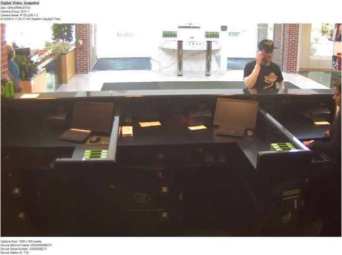 TD Bank Robbery Princeton