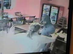 The attempted robbery on Route 1 in South Brunswick was caught on video.