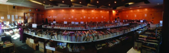 Book Sale PRinceton Library
