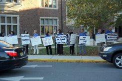 Princeton Teachers Union protest