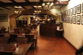 The Yankee Doodle Tap Room at the Nassau Inn.