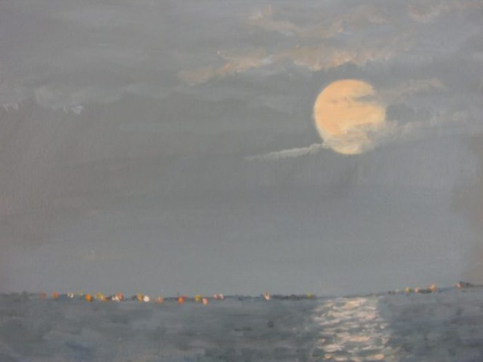 Super Moon by Diane Tomash