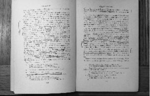 """Derrida's annotations on a page from """"Sur Racine"""" by  Roland Barthes (Paris: Editions du Seuil, 1963). Photo: J. L. Logan."""