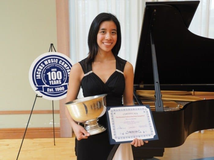 Johns Hopkins University student Constance Kaita, who is interning with the  Bravura Philharmonic Orchestra this summer, was named most outstanding performer at the 8th annual Princeton Festival Piano Competition last weekend.