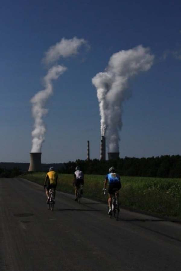 Anchor House cyclists head for Hazleton on day 6 of the Ride for Runaways. Photo: Jeanne Imbrigiotta.