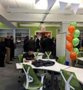 hub Princeton workspace