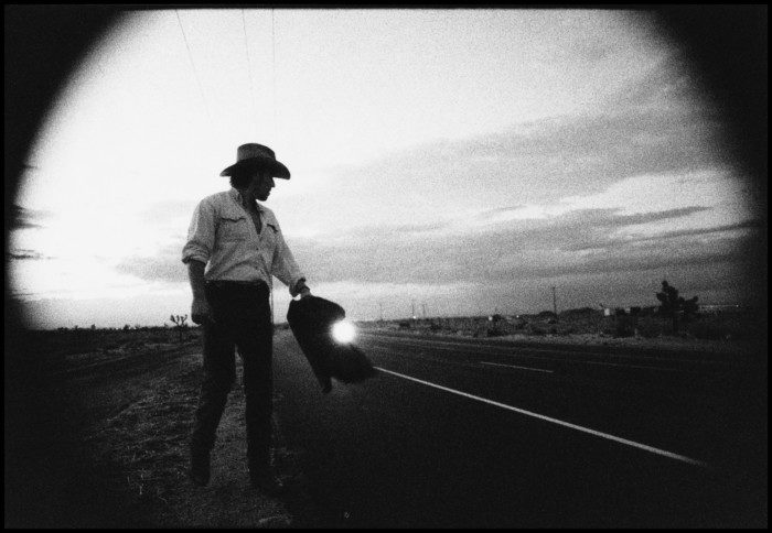 Photo: Bruce on the Highway, Pamela Springsteen.