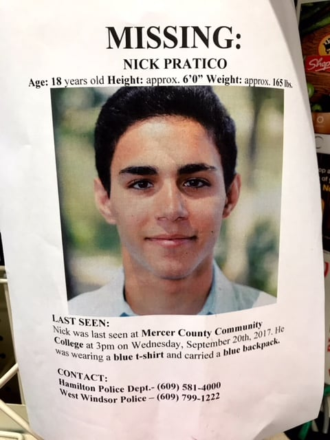 Missing Notre Dame High graduate found dead near Mercer County Community College campus