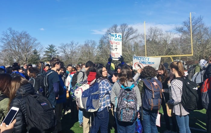 Photos: Area students protest gun violence and remember Florida victims