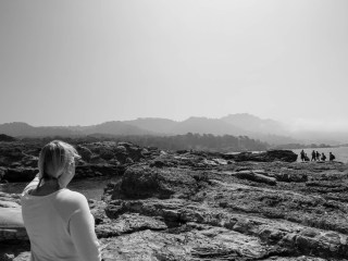 Suzanne Kirkland: On location in Point Lobos, CA.