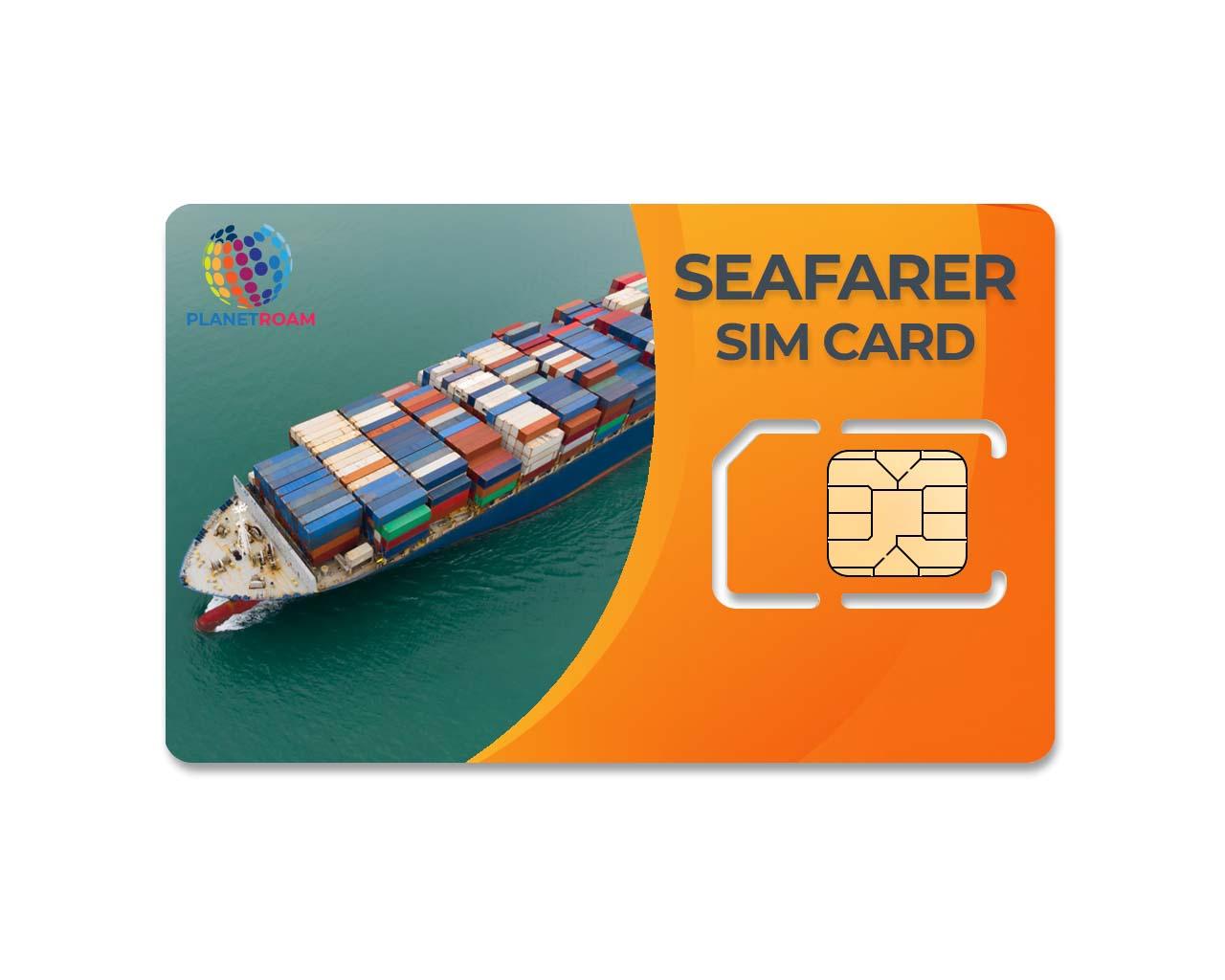 PlanetRoam Seafarer SIM Card for Merchant Navy Shipping Jobs -  International SIM Card