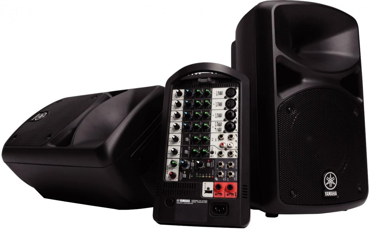Sono Portable Yamaha Stagepas 400 Bt Pour 549 00 Planetsono