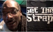 Snoop Dogg Reacts After 50 Cent Sends Him A Get The Strap T Shirt