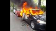 Damn: Woman Set Her Husband's Car On Fire For Trying To Divorce Her!