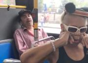 Leave Me Alone: He Got This Woman Heated With His Laughter!