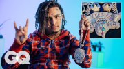 Lil Pump Shows Off His Insane Jewelry Collection   On the Rocks   GQ