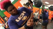 The Real Icebox: 9th Grade Female High School Student Breaks National Record In Bench Pressing At 315!