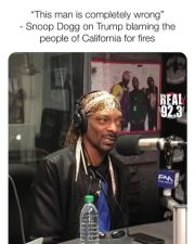 "Snoop Dogg On President Trump Blaming People Of California For The Fires! ""You Aint Gonna Send Condolences Out?"""