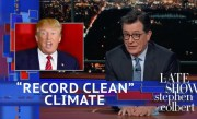 Trump Describes Earth's Climate As 'Record Clean'