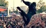 11 Rappers' Extreme Stage Dives