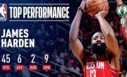 James Harden Drills NINE 3's And Drops 45 Points In Rockets' Win | December 27, 2018