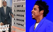 Jay-Z tops Stephen's A. top 5 rappers who impact the NBA list   First Take