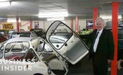 Inside One Of Europe's Largest Car Collections