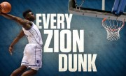 Each of Zion Williamson's 62 dunks from his freshman season at Duke   College Basketball Highlights