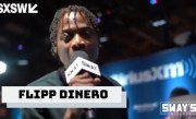 "Flipp Dinero Performs ""Leave Me Alone"" on Sway In The Morning at SXSW"