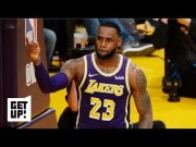 LeBron passing Jordan on scoring list spoiled by Lakers' loss, Rajon Rondo checking out | Get Up!