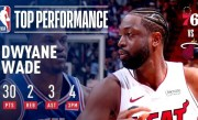 Dwyane Wade Puts On A Show In Final Home Game