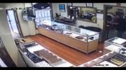Had Enough: Jewelry Store Owner Beats A Robber With A Hammer Before He Escapes!